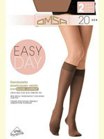 Omsa Easy day 20 GB - гольфы (2пары)