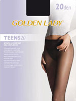 Golden  Lady Teens 20 V.B. - GL camoscio***